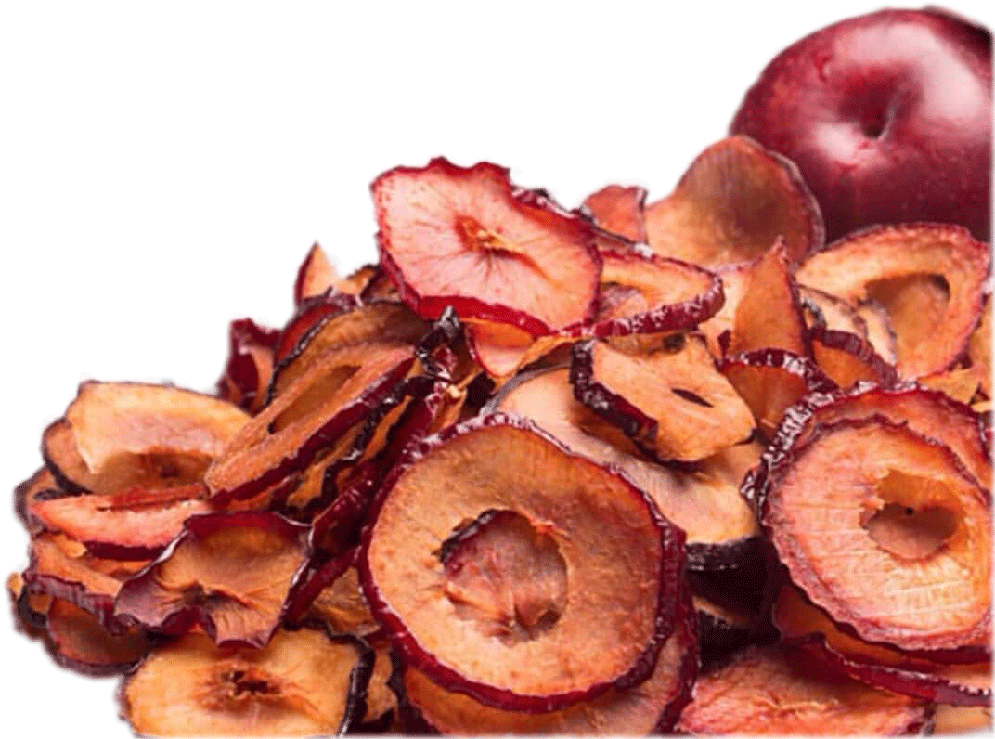 Red Plum Slices Image