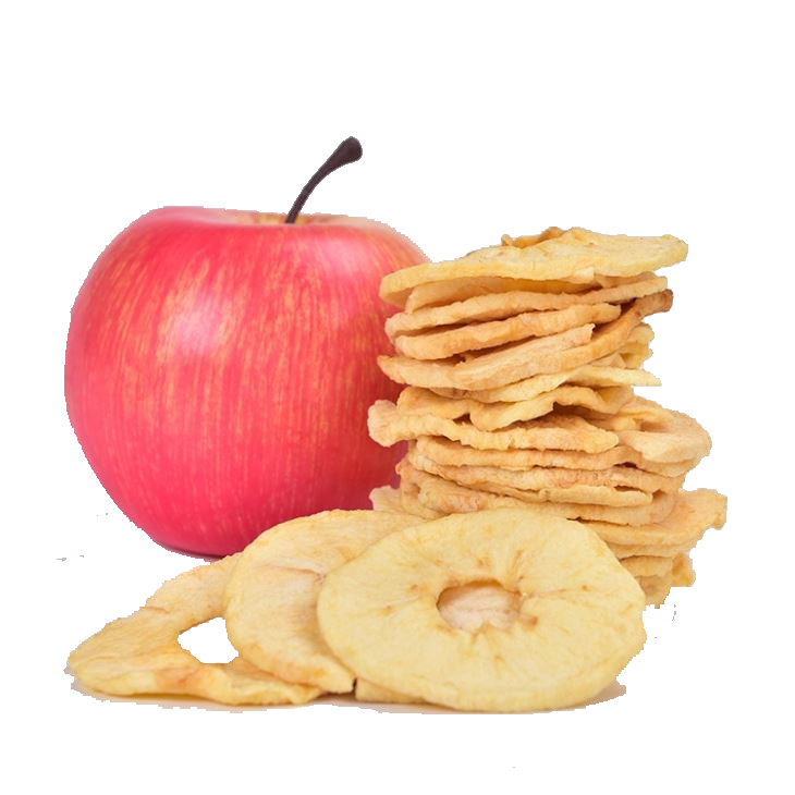Peeled Apple Slices Image